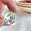 Thumbnail: Foley 'Broadway' pattern vintage china ring