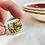 Thumbnail: 'Hielan' Coos' Scottish vintage china ring