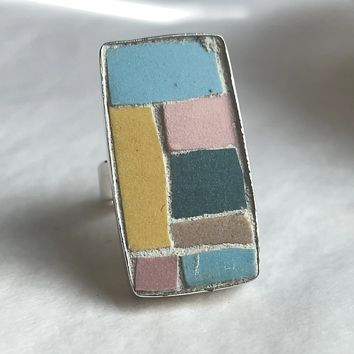 Cinca traditional unglazed ceramic tile