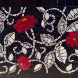 Scarlet flowers
