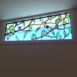 Big Birdy windows 2020 - detail