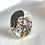 Thumbnail: Scottish Bagpiper vintage china ring