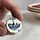 Thumbnail: JH Weatherby 'Willow pattern' vintage china ring