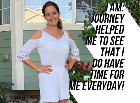It Helped Prove To Myself That I Do Have Time For Me Everyday!