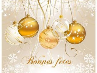 Joyeuses fêtes de fin d'année & vœux 2021
