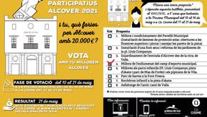 Pressupostos participatius de l'Ajuntament d'Alcover