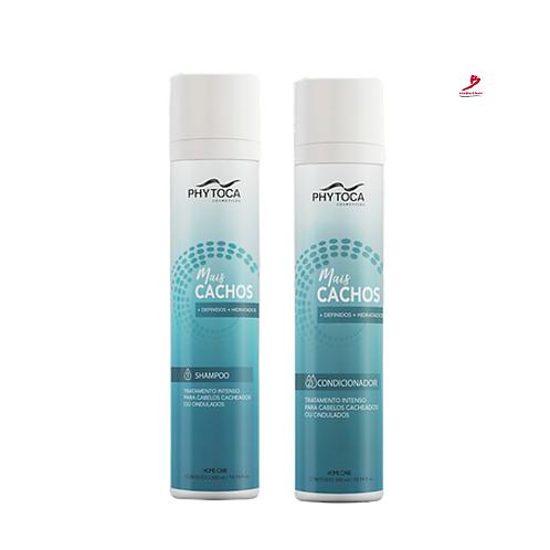 Shampoo+Condicionador Phytoca Mais CachosTratando seus Cachos.