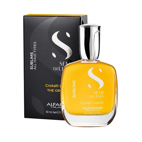Alfa Parf Semi di Lino Criastalli Liquidi Oleo Capilar 50g