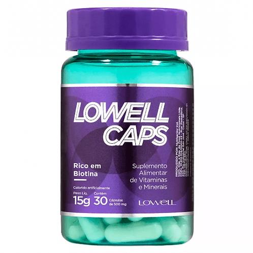Lowell Caps Suplemente alimentar em cápsulas 30 Capsulas