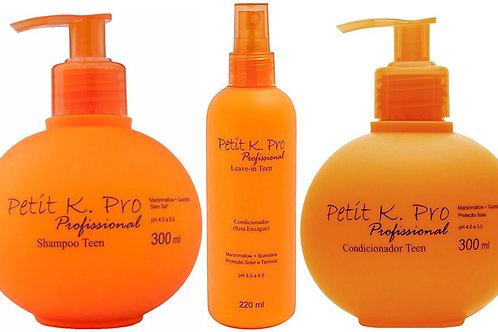 Kit K-Pro Petit Shampoo+Condicionador+Leave in