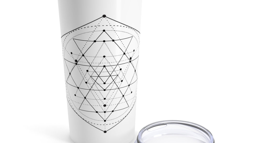 Sacred Geometry Tumbler 20oz