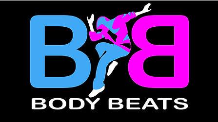 Body Beats Full Logo - Dark Background J