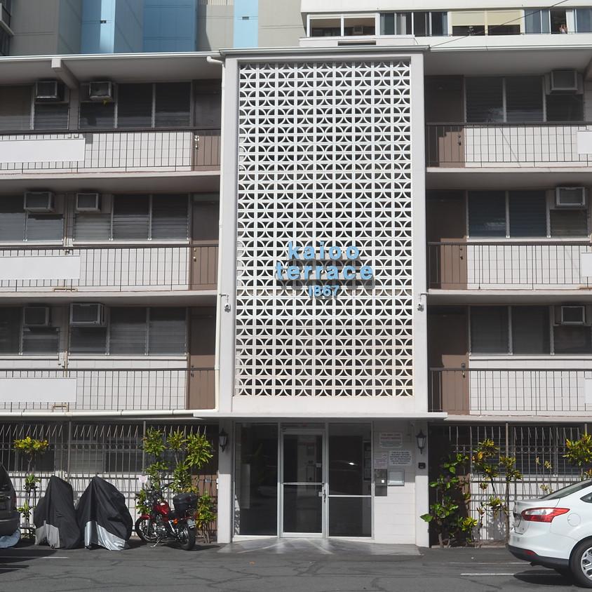 Open House - 1867 Kaioo Drive Unit #108, Honolulu, HI 96815