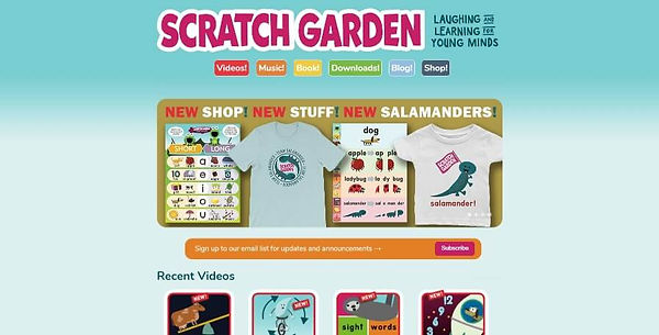 Scratch Garden Website