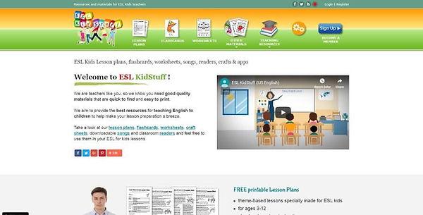 ESL KidStuff Website