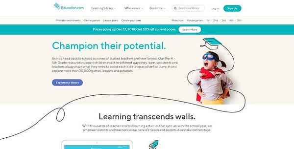 Education.com Website