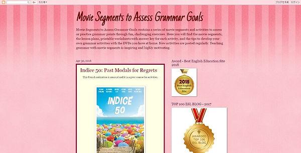 Movie Segments to Assess Grammar Goals Website