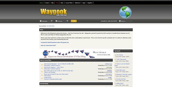 Waygook Website