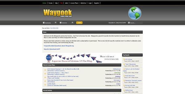 Waygook Website