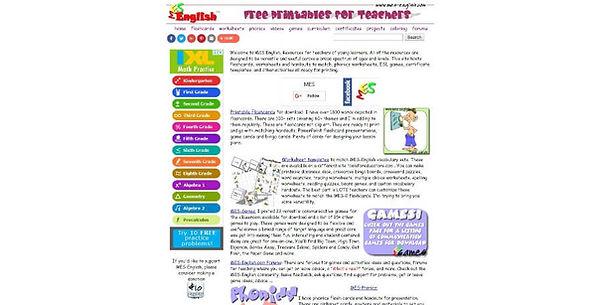 MES English Website