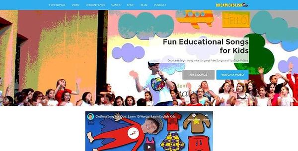Dream English Website