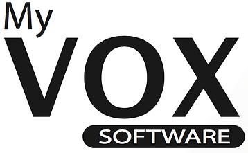 Lecteur de glycémie VOX - Logo- myvoxsoftware