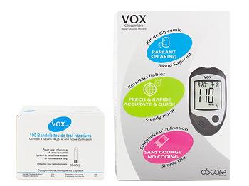 Lecteur de glycémie VOX - Visuel2