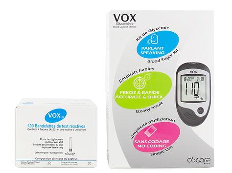 Lecteur de glycémie parlant VOX - Visuel2