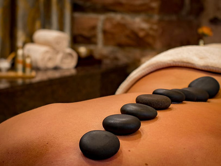 Hot Stones and Massage