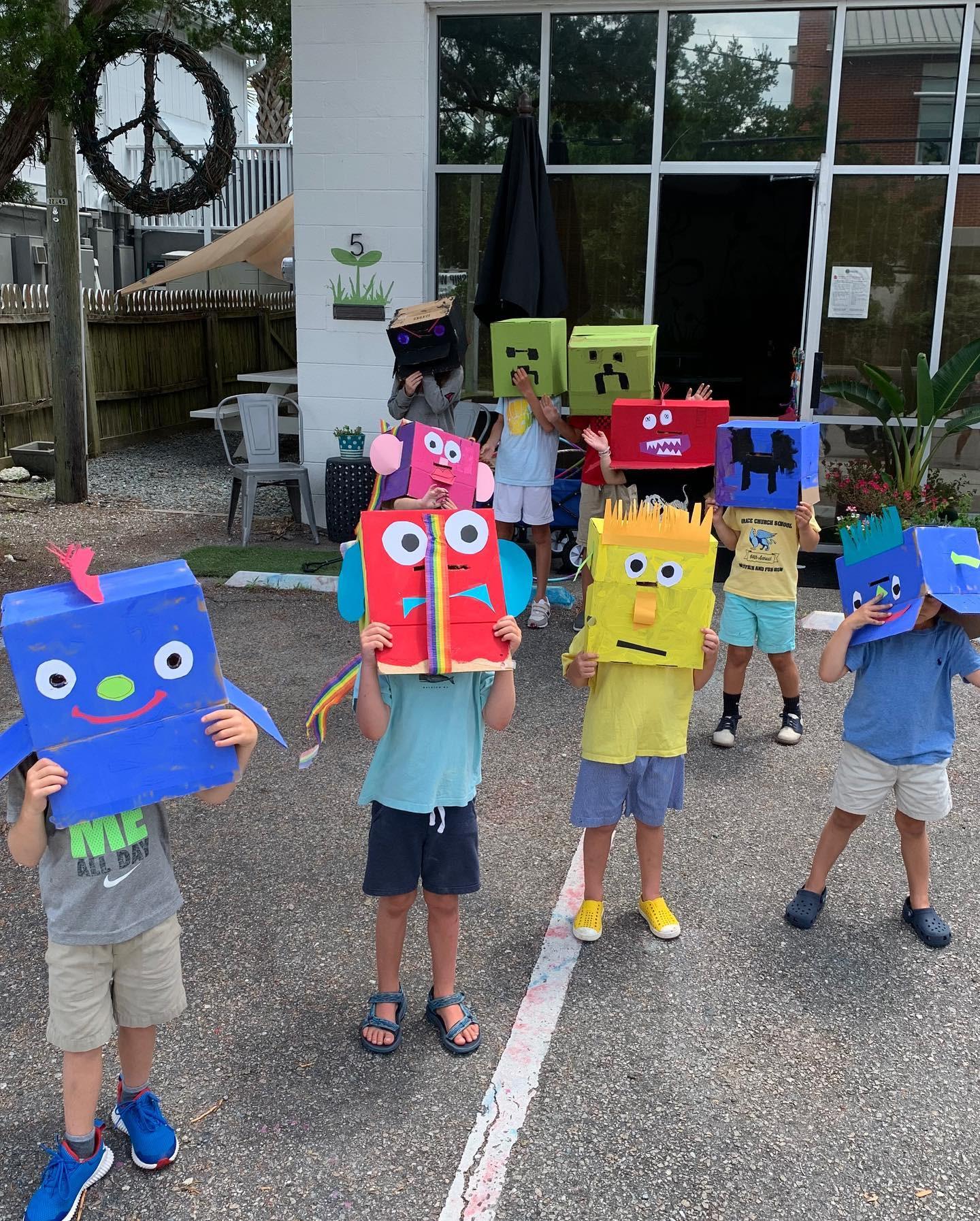 Cardboard Creations Camp
