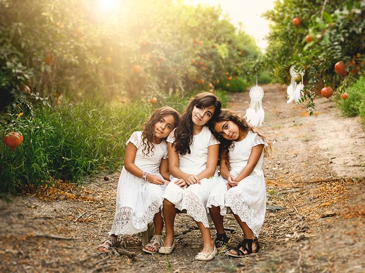 צילומי ילדים בטבע