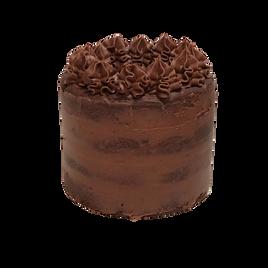 Double Chocolate Layered Cookie Cake