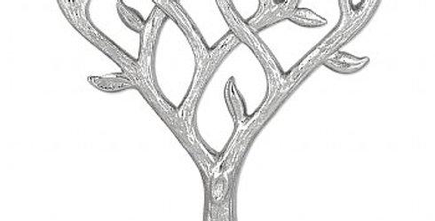 Textured Tree of Life Menorah