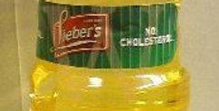 שמן זית להדלקת נרות לשבת ולחנוכה Clear plastic Bottle of 1 Liter (34 Oz.) 100% E
