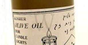 שמן זית מיוחד להדלקת נרות לשבת ולחנוכה Plastic Bottle of 42 Oz. with High qualit