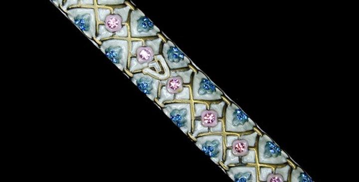 Mezuzah Case, jeweled, large