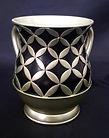 Acrylic Wash Cup, Diamonds in Circles De