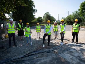 Work gets underway on Eglinton playpark