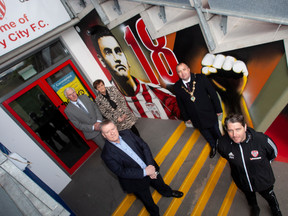 Mural to Mark Farren unveiled at Brandywell