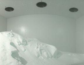 Silo de hielo interior