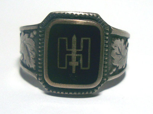 9th SS Panzer Division Hohenstaufen  silver ring