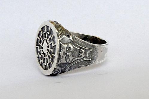 Black Sun ww2 German ring