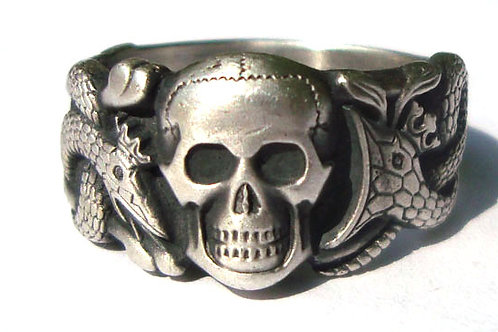 WW2 German skull ring