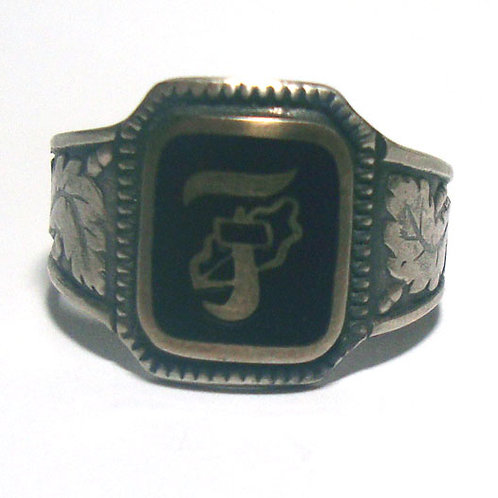 10th SS Panzer Division Frundsberg  silver ring