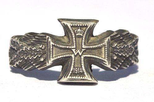 WW1/WW2 Iron Cross German ring