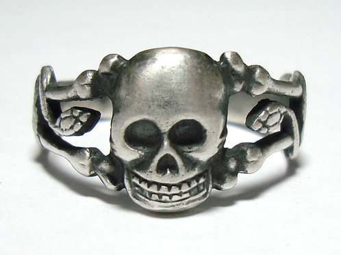 WW2 German skull ring