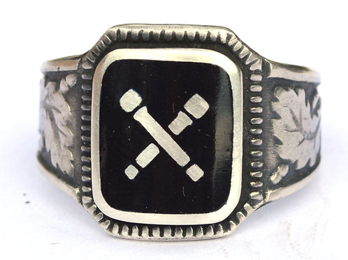 SS-Sturmbrigade Dirlewanger 36th div silver ring