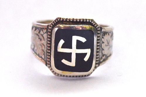 5th SS Panzer Div Wiking  silver ring, WW2 German