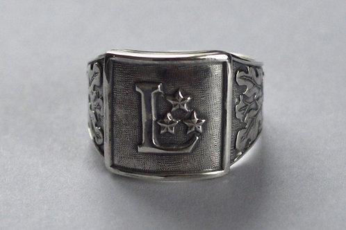 Latvijas armijas gredzens sudrabā