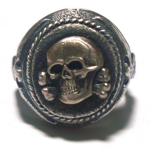 WW2 German SS skull ring